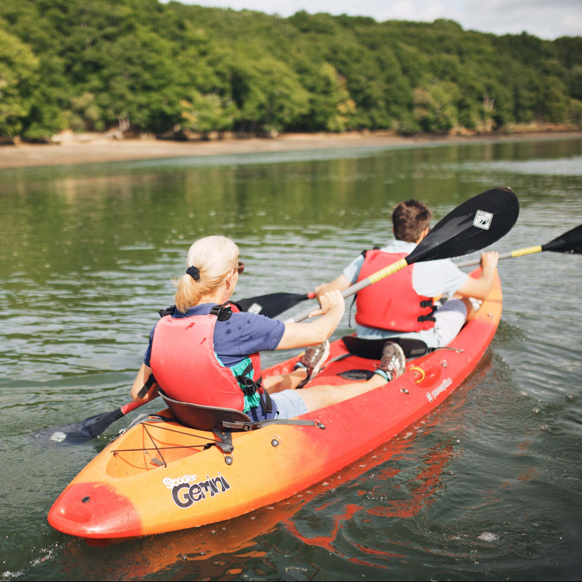 kayaking on the River Hamble
